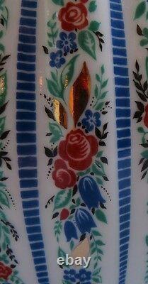 24 Pc Vintage Lomonosov Sarafan Dessert Set USSR / Russia Roses & Heavy Gold