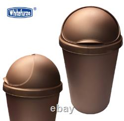50l Whitefurze Rose Gold Bullet Kitchen Waste Trash Rubbish Bin Heavy Duty