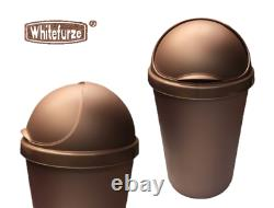 Brand New Rose Gold Heavy Duty Rubbish Kitchen Bin Uk Made Fast Free Delivery