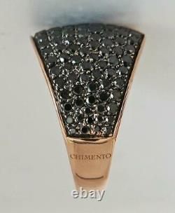 Chimento Heavy 18KT Rose Gold approx 2.5 CT Diamond RingSize 716.2 Gms