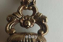 Fabulous Antique 9ct Rose Gold Very Heavy Cornelian Agate Seal Fob