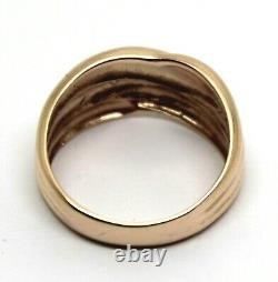 Kaedesigns New Genuine 9ct 9Kt Full Solid Rose Gold Heavy Dome Ring 213