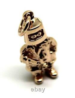 Kaedesigns New Heavy 9Ct Rose Gold / 375 Solid Ned Kelly Pendant