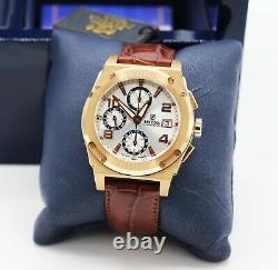 Luxury Men's Festina Heavy 18k Rose Gold Shockwave Chronograph 40mm Watch