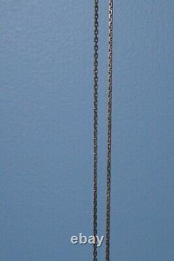 14 K Rose Gold 583 Russian Heavy Chain 27! Extrêmement Rare