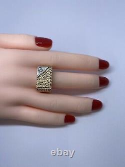 Bague En Diamant Homme En Or Rose Lourd