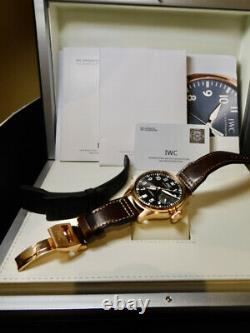 Iwc Big Pilot Rose Gold 5009 Rare 99 % Lnib Minty Heavy Gold Case 2 Straps