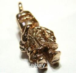Kaedesigns New Heavy 9ct Rose Gold / 375 Solid Ned Kelly Pendentif