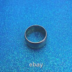 Superbe Heavy 8 Grammes 9ct Rose Gold Wedding Band Ring Taille M1/2
